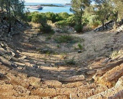 Kedrai Antik Kenti (Sedir Adası)
